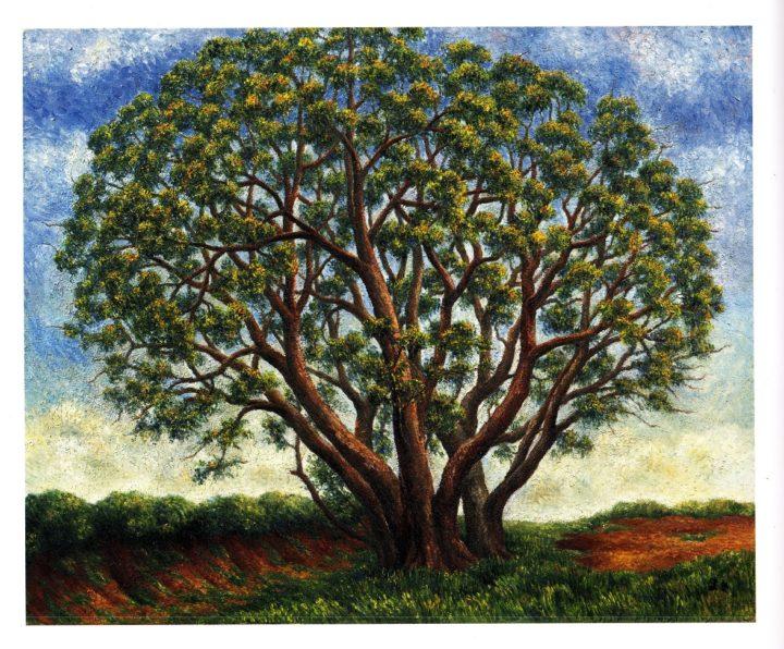 高良眞木 作 「樹」